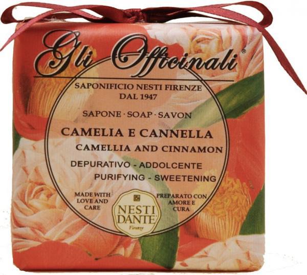 Nesti Dante kamélia-fahéj natúrszappan - 200 gr