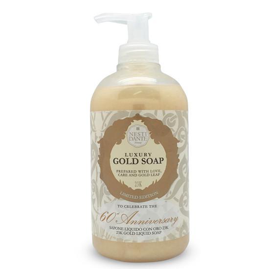 Nesti Dante Luxury Gold - Arany - Folyékony szappan 500 ml
