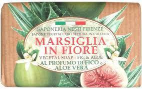 Nesti Dante Marsiglia in Fiore - Fig and Aloe - füge-aloé natúrszappan - 125gr