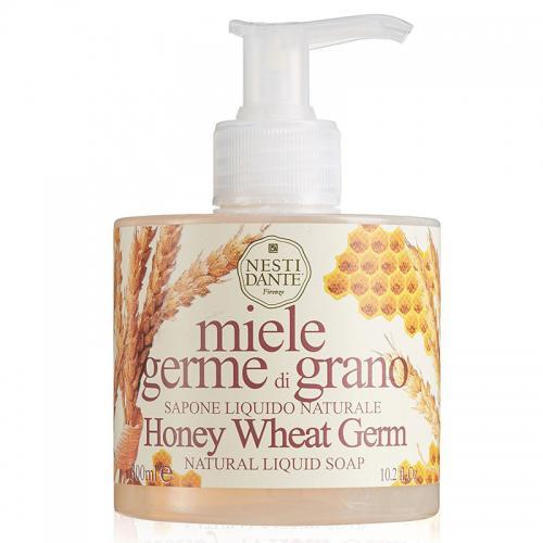 Nesti Dante Mézes-búzacsírás SLS mentes folyékony szappan adagolóval - 300 ml
