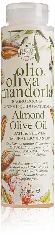 Nesti Dante Olive and almond oil - olívás-mandulás - hab- és tusfürdő - 300 ml