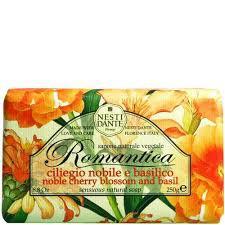 Nesti Dante Romantica - Cseresznyevirág - bazsalikom natúrszappan - 250 gr