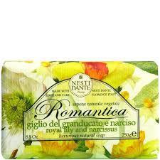Nesti Dante Romantica - Királyliliom és nárcisz natúrszappan - 250 gr