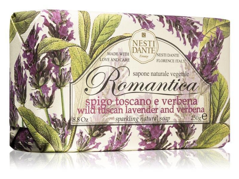 Nesti Dante Romantica - Levendula és Verbéna natúrszappan - 250 gr