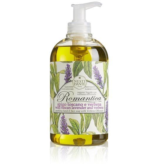 Nesti Dante Romantica Levendula-verbéna Folyékony szappan - 500 ml