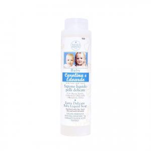Nesti Baby Carolina és Edoardo babafürdető és hab-fürdő  SLS-mentes! - 300 ml