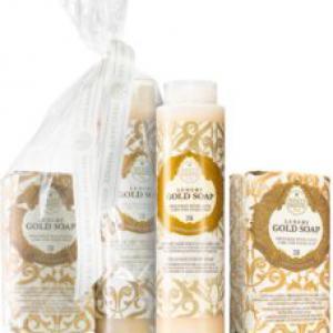 Nesti Dante ajándékszett - Gold szappan + tusfürdő