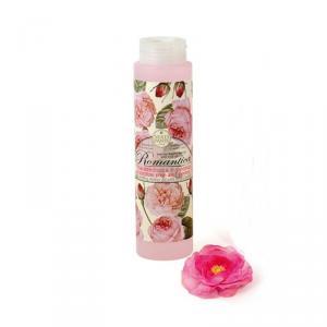 Nesti Dante Romantica Rose and peony - Rózsa-peónia - hab- és tusfürdő - 300 ml
