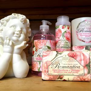 Romantika Rózsa-Peónia angyalos szett