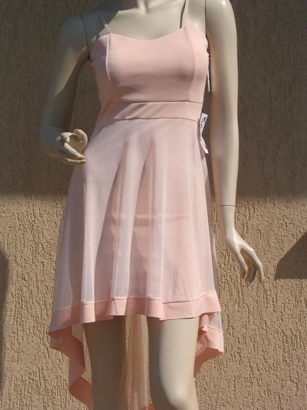 cf84ad7f43 Olasz, Női pántos rózsaszín alkalmi ruha. [140918] - gboot ...
