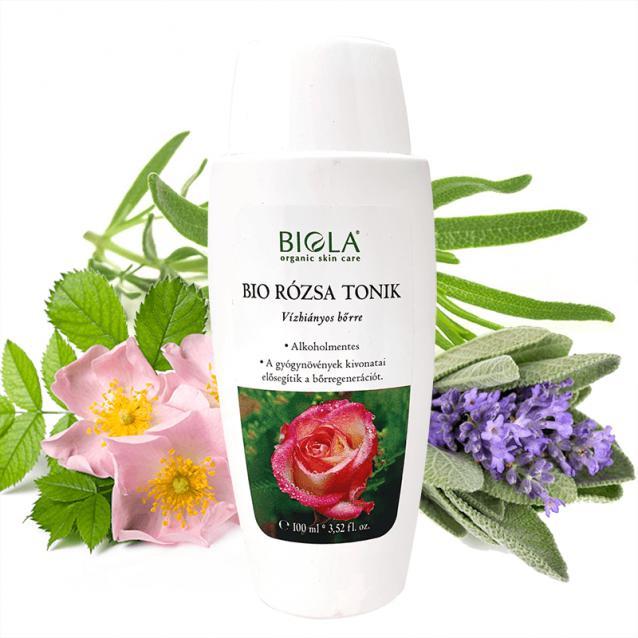 Biola Bio Rózsa tonik (100 ml)