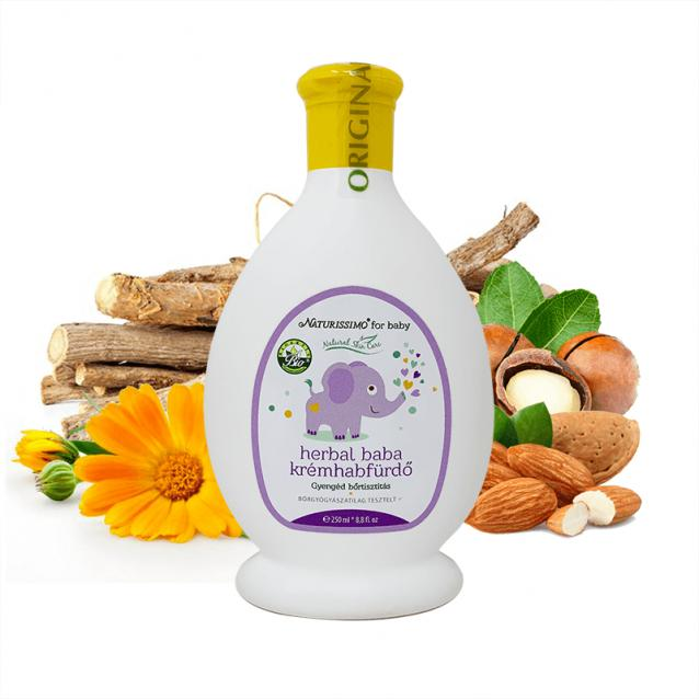 Biola Herbal baba krémhabfürdő (250 ml)