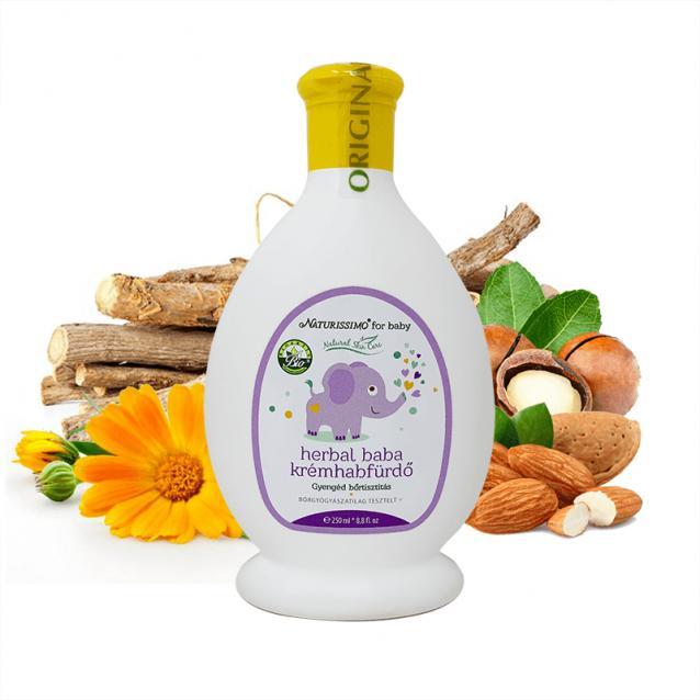 Biola Herbal baba krémhabfürdő (250 ml)