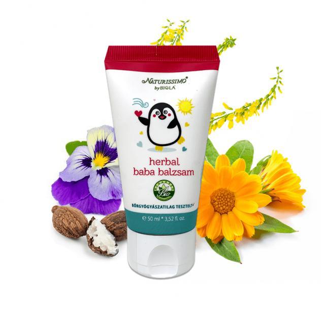 Biola Herbál bababalzsam (50 ml)
