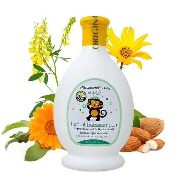 Biola Herbál babasampon (250 ml)