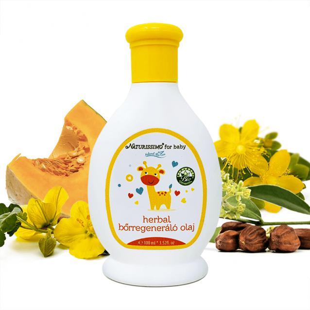 Biola Herbál bőrregeneréló olaj (100 ml)