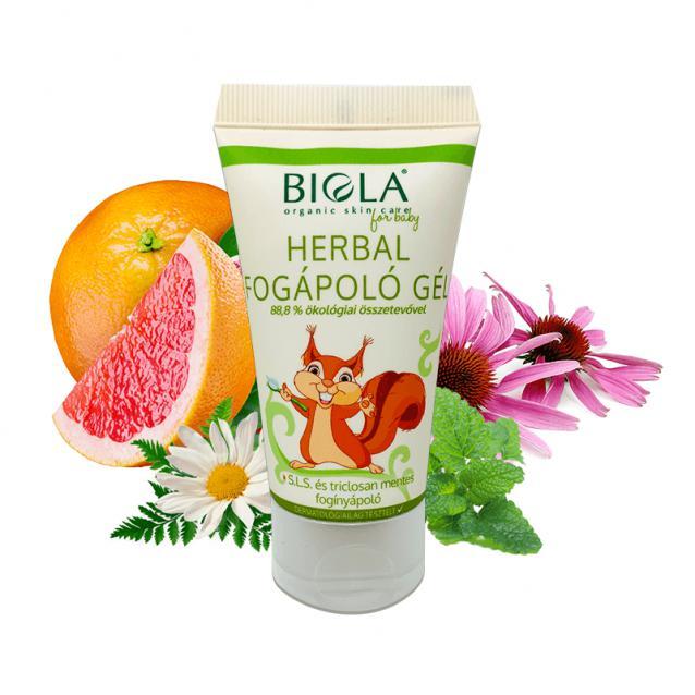 Biola Herbál fogápoló gél (50 ml)