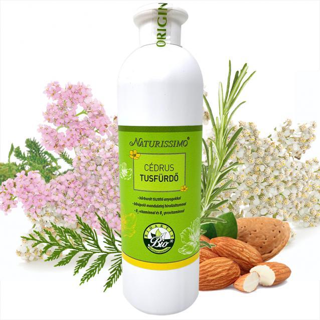 Biola Naturissimo Cédrus tusfürdő (500 ml)