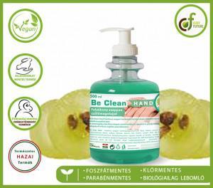 Cudy Be Clean szőlőmagolajos folyékony szappan, zöld (500 ml)