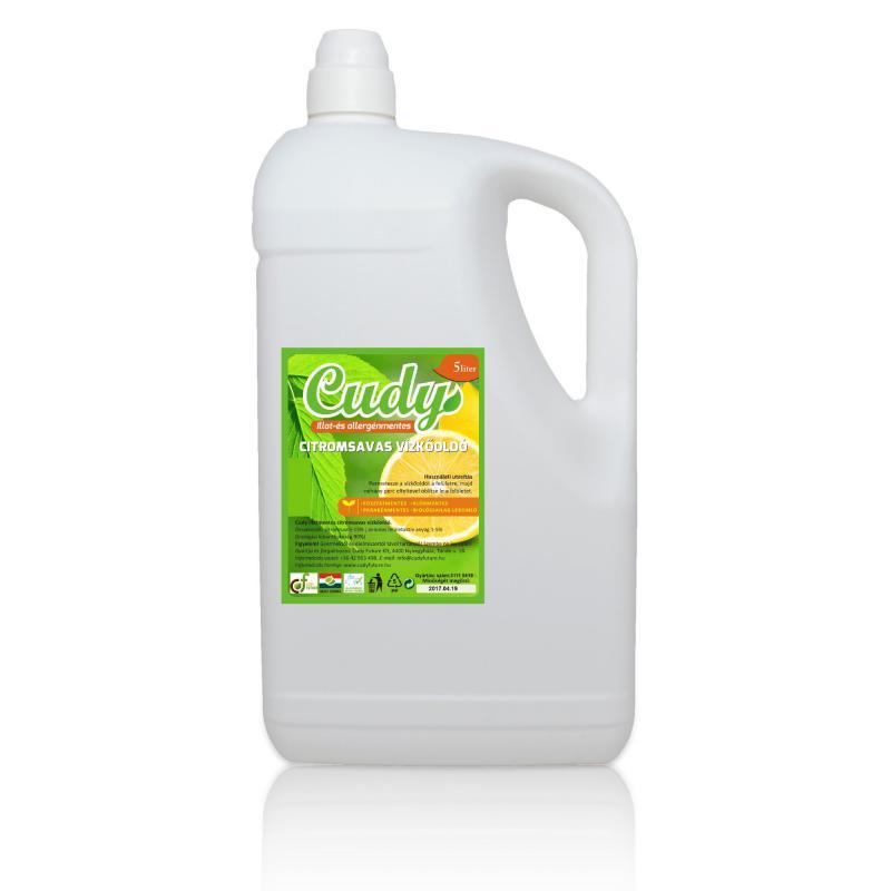 Cudy Citromsavas vízkőoldó (5 l)