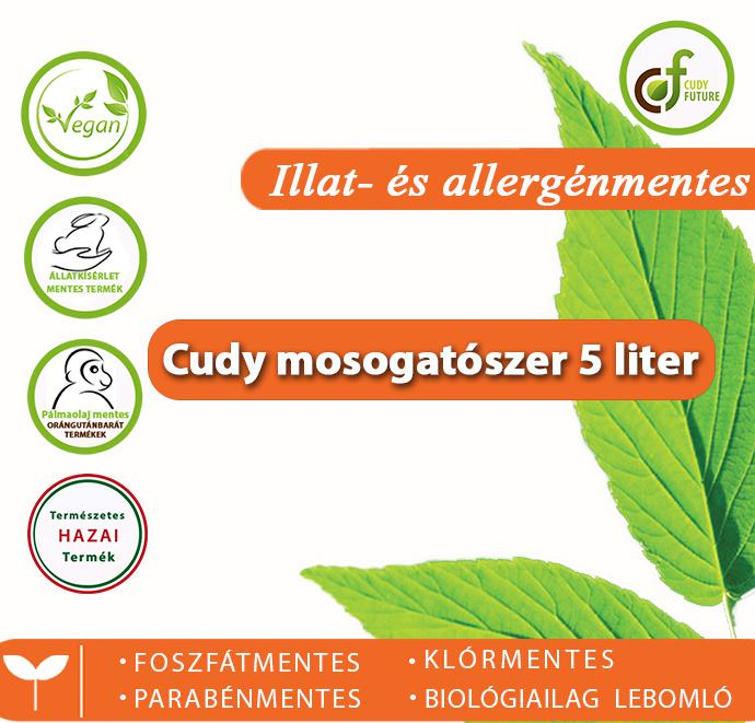 Cudy Illatmentes mosogatószer (5 l)