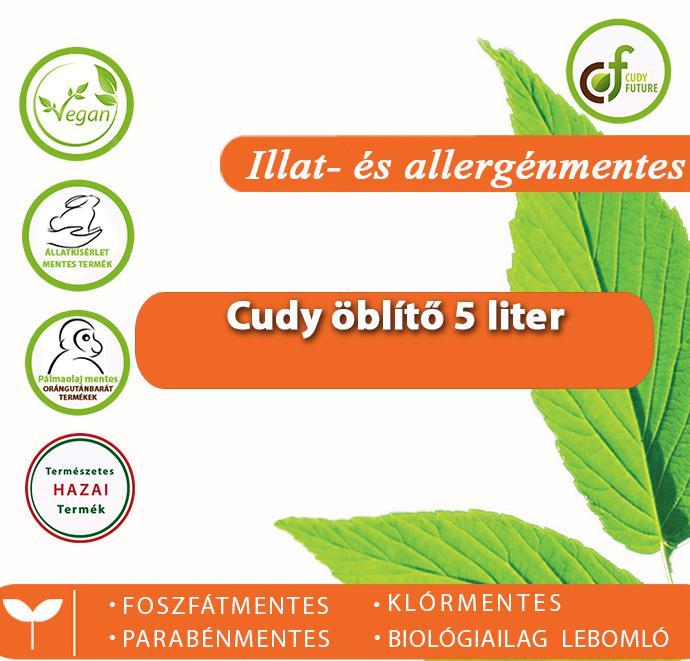 Cudy Illatmentes öblítőkoncentrátum (5 l)
