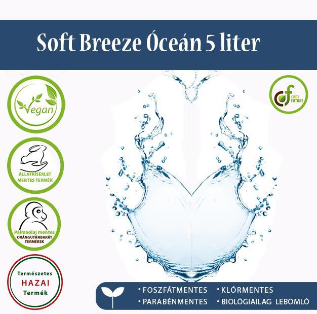 Cudy Soft Breeze öblítőkoncentrátum, óceán (5 l)