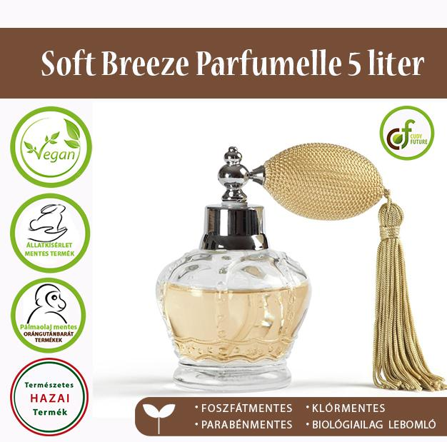 Cudy Soft Breeze öblítőkoncentrátum, parfümelle (5 l)