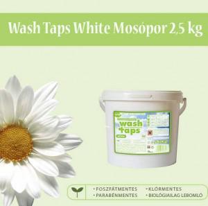 Cudy Wash Taps mosópor, fehér ruhákhoz (2,5 kg)