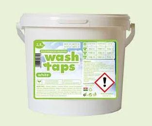 Cudy Wash Taps mosópor, fehér ruhákhoz (5 kg)