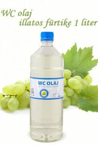 Cudy Wc-olaj, illatos fürtike (1 l)