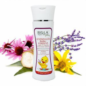 Biola Levendulás babafürdető (150 ml)