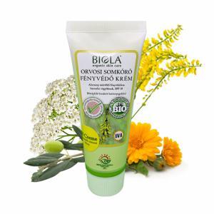 Biola Orvosi somkóró fényvédő krém (75 ml), világosabb tónusú bőrre