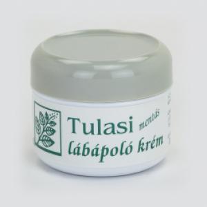 Tulasi lábápoló krém, fahéjas (80 ml)