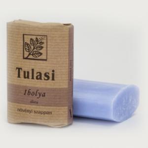 Tulasi ovális szappan, Ibolya (100 g)