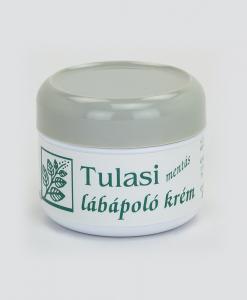Tulasi lábápoló krém, mentás (80 ml)