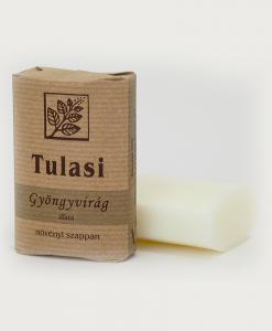 Tulasi ovális szappan, Gyöngyvirág (100 g)