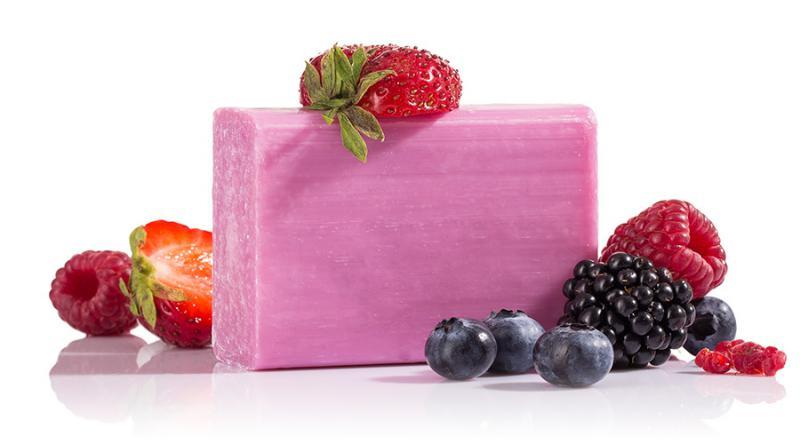 Yamuna hidegen sajtolt szappan, Erdei gyümölcs (110 g)