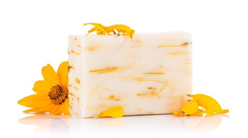 Yamuna hidegen sajtolt szappan, Körömvirág (110 g)