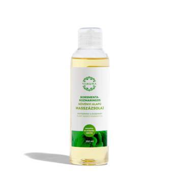 Yamuna masszázsolaj, borsmentás-rozmaringos (250 ml)