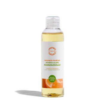 Yamuna masszázsolaj, narancs-fahéjas (250 ml)