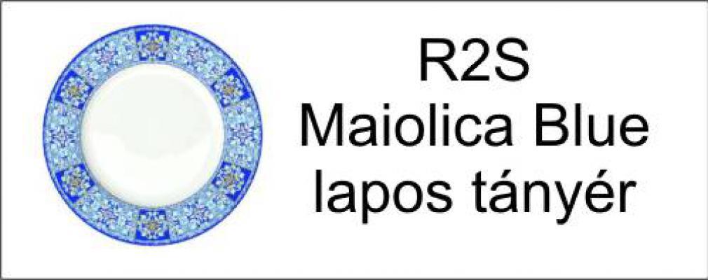 Maiolica Blue tányér
