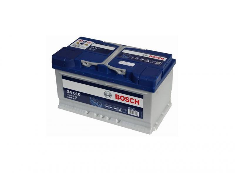 Akkumulátor BOSCH SILVER S4 80AH 740A jobb+