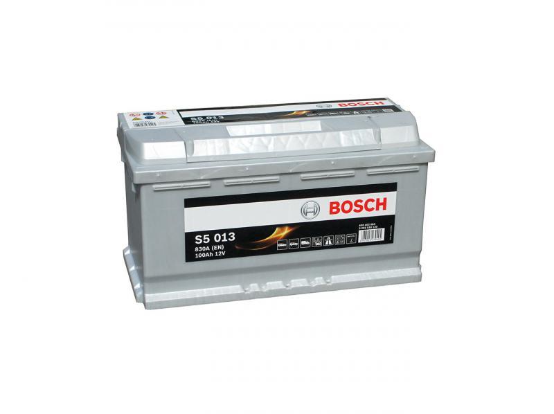 Akkumulátor BOSCH SILVER S5 100AH 830A jobb+