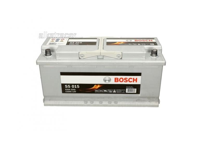 Akkumulátor BOSCH SILVER S5 110AH 920A jobb+