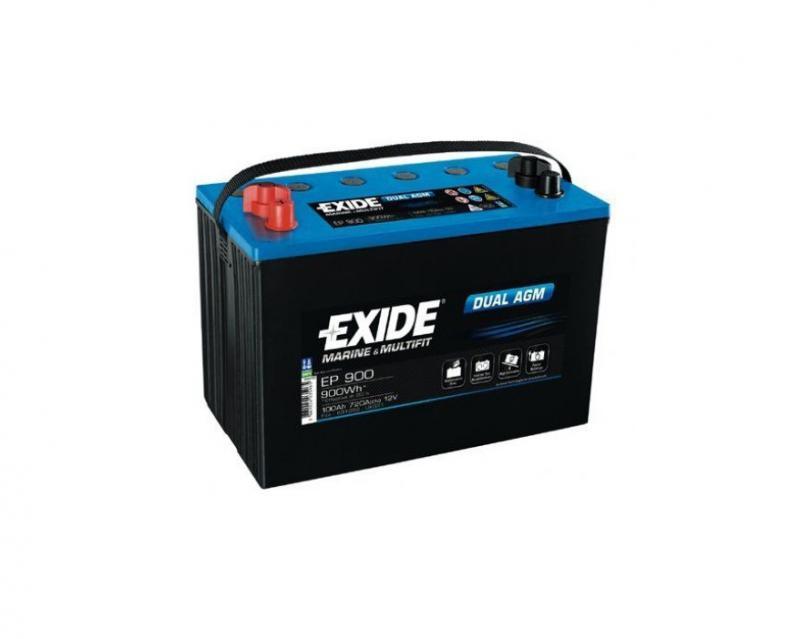 Akkumulátor EXIDE DUAL AGM 100AH 720A EP900