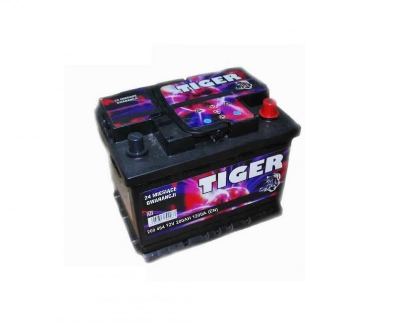 Akkumulátor TIGER 200AH 1200A  jobb+