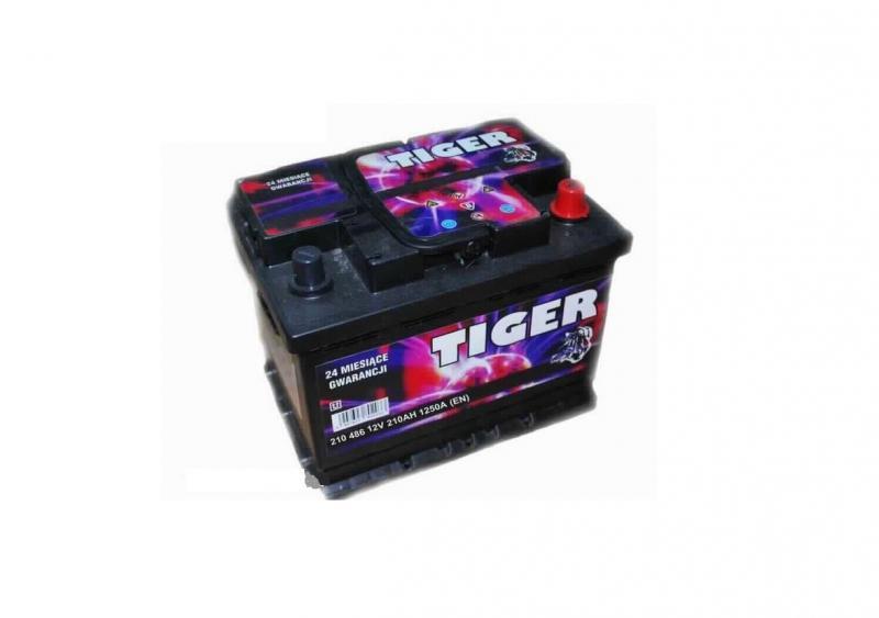 Akkumulátor TIGER 210AH 1250A HD  Jobb +