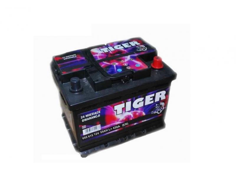 Akkumulátor TIGER 55AH BAL+ 420A