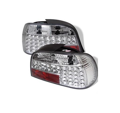 BMW E38 LED hátsó lámpa szett - ezüst